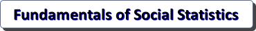 Fundamentals of Social Statistics